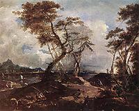 Landscape, c.1780, guardi