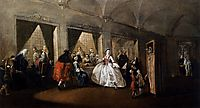 The Parlour of the San Zaccaria Convent, 1750, guardi