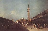 Piazza San Marco, 1760, guardi