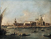 The Punta di Dogana, c.1782, guardi