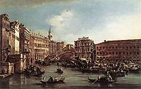 The Rialto Bridge with the Palazzo dei Camerlenghi, 1763, guardi