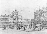 The Torre del Orologio, 1770, guardi