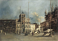 The Torre del Orologio, 1770, guardi