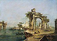 Venetian Capriccio, 1780, guardi