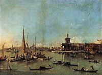 Venice: The Dogana with the Giudecca, c.1775, guardi