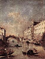 Venice, Il Rio dei Mendicanti, 1780, guardi
