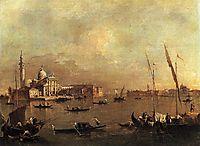 Venice: San Giorgio Maggiore, c.1775, guardi