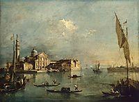 View of the Island of San Giorgio Maggiore, 1775, guardi