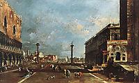 View of Piazzetta San Marco towards the San Giorgio Maggiore, 1770, guardi