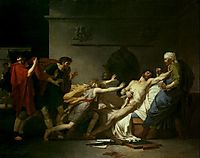 The Death of Cato of Utica , 1797, guerin