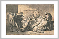 Death of Cato of Utica, guerin