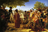 Napoleon Bonaparte  Pardoning the Rebels at Cairo, guerin