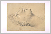 Study of the head of Andromache, guerin