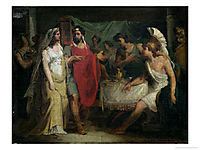 The Wedding of Alexander the Great and Roxana, 1810, guerin