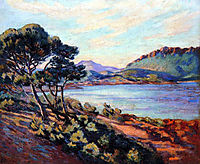 Agay Bay, 1910, guillaumin