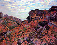 Crozant, les Monts Sedelle, matin, 1895, guillaumin