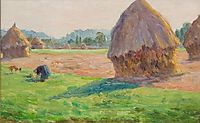 The Haystacks, 1895, guillaumin