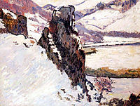 Creuse under the snow, 1890, guillaumin