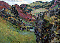 Landscape near Saint-Julien-des-Chazes, 1895, guillaumin