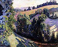 Landscape at Pontgibaud, c.1895, guillaumin