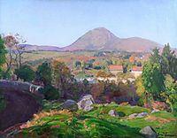 Landscape of Puy de Dôme, guillaumin