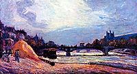 Le Pont des Arts, 1878, guillaumin