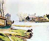 Le réservoir à Poitiers, 1910, guillaumin