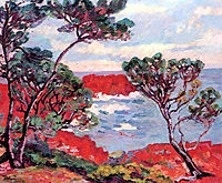 Les rochers rouges, 1894, guillaumin