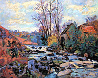 Moulin Bouchardon, Crozant, 1895, guillaumin