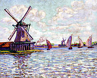 Moulins en Hollandee, 1904, guillaumin