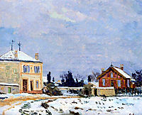Neige, 1876, guillaumin