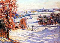 Neige à Crozant, 1898, guillaumin