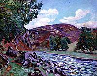 Paysage à Crozant, 1900, guillaumin