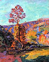 Paysage à Crozant, 1917, guillaumin