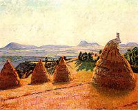 Plateau Bromont at Pontgibaud (Puy de Dôme), 1890, guillaumin