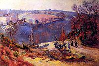 Pont-Charraud: gelée blanche, 1911, guillaumin