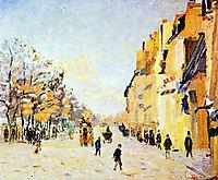 Quai de Bercy, effets de neige, 1874, guillaumin