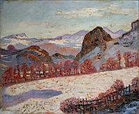 Saint-Sauves-d-Auvergne, 1900, guillaumin