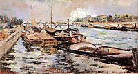The Seine, 1867, guillaumin