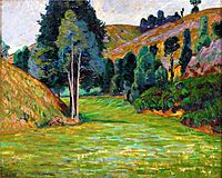 Valley in Pontgibaud, c.1890, guillaumin