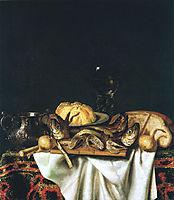 Nature morte aux poissons, 1667, gysbrechts