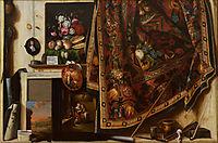 Trompe l-oeil. A Cabinet in the Artist-s Studio, 1671, gysbrechts