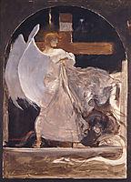 The Archangel, Study for , 1895, gyzis