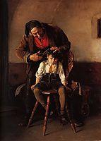 The barber , 1880, gyzis