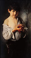 Boy with Cherries , 1888, gyzis