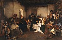 Children engagement, 1877, gyzis