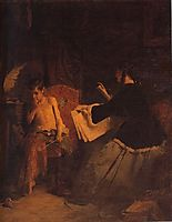 Eros and the painter, 1868, gyzis