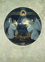 Mother of God, study, 1898, gyzis