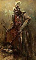 Oriental warrior, gyzis
