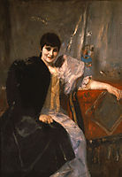 Portrait of Artemis Gyzi, 1890, gyzis